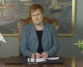 (1.1.2011) Tasavallan presidentti Tarja Halosen uudenvuodenpuhe kokonaisuudessaan