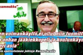 (15.5.2013) Yle: Helsingin opetusviraston Rauno Jarnilalle moitteita Alppilan koulun tapauksesta – johtaja pahoittelee