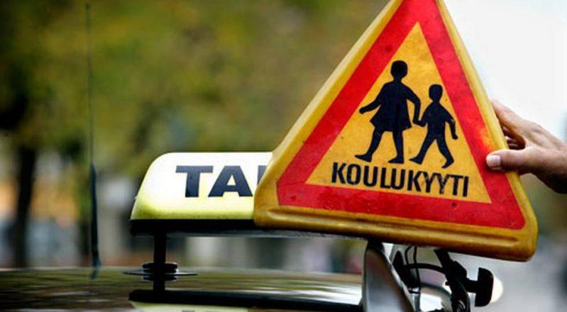 (15.8.2018) Taksikilpailutus raivostuttaa vanhempia Nurmijärvellä