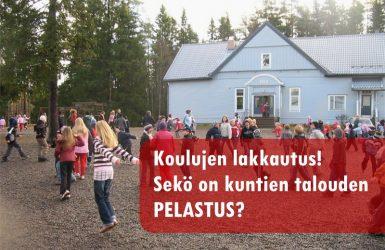 (23.10.2014) Jopa kahdeksan koulua saatetaan lakkauttaa Järvi-Pohjanmaalla
