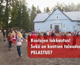 (15.3.2013) Kyläkoulut kaikkoavat Kannuksesta?