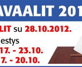 (24.8.2012) OAJ Kuntavaaleissa vahvasti mukana