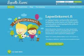 (3.8.2012) Lapsellekaveri.fi lapsiperheiden avuksi