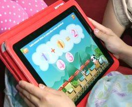 (14.8.2012) Tabletit opettavat lukemaan ja laskemaan