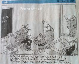 (8.4.2013) Erotettu opettaja Antti Korhonen: Sikamainen temppu