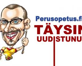 (21.3.2013) Perusopetus.fi verkkosivut uudistui!